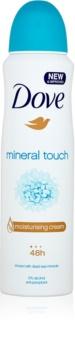 Dove Mineral Touch antiperspirant ve spreji
