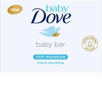 Dove Baby Rich Moisture кремовая таблетка для умывания