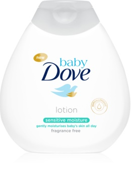 Dove Baby Sensitive Moisture хидратиращо мляко за тяло