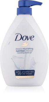 Dove Deeply Nourishing gel doccia nutriente con dosatore