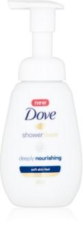 Dove Deeply Nourishing tusoló hab tápláló hatással