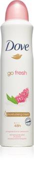 Dove Go Fresh Pomegranate & Lemon Verbena antitranspirante em spray 48 h
