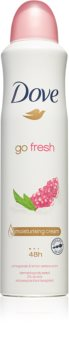 Dove Go Fresh Pomegranate & Lemon Verbena spray anti-transpirant 48h