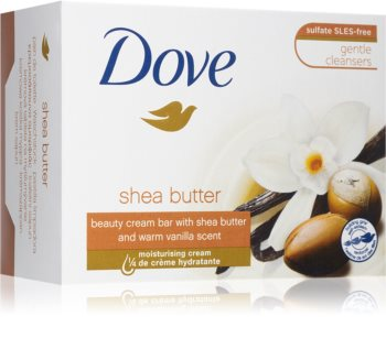 Dove Shea Butter & Vanilla почистващ твърд сапун