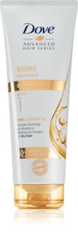 Dove Advanced Hair Series Pure Care Dry Oil šampon pro suché a matné vlasy