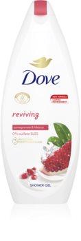Dove Go Fresh Pomegranate & Lemon Verbena gel de banho nutritivo