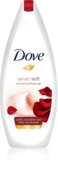 Dove Velvet Soft hidratáló tusoló gél
