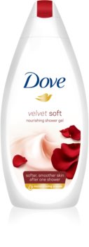 Dove Velvet Soft feuchtigkeitsspendendes Duschgel