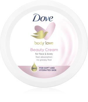 Dove Beauty Cream nährende Crem Für Gesicht und Körper