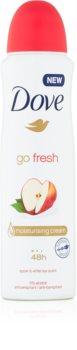 Dove Go Fresh Apple & White Tea антиперспірант спрей з 48-годинним ефектом
