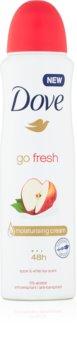 Dove Go Fresh Apple & White Tea Antiperspirant Spray Med 48 timers effektivitet