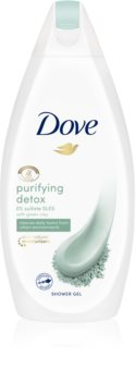 Dove Purifying Detox Green Clay čisticí sprchový gel