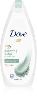 Dove Purifying Detox Green Clay gel de duche de limpeza