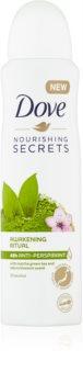Dove Nourishing Secrets Awakening Ritual antiperspirant v spreji so 48hodinovým účinkom