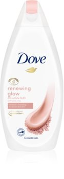 Dove Renewing Glow Pink Clay Närande dusch-gel