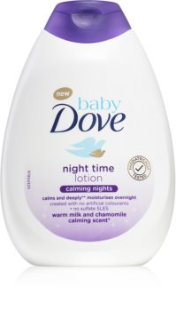 Dove Baby Calming Nights lait doux corps