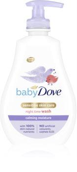Dove Baby Calming Nights gel de limpeza suave