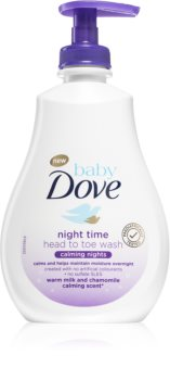Dove Baby Calming Nights нежный очищающий гель