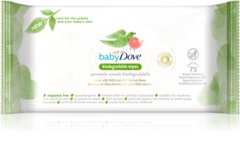 Dove Baby Biodegradable Wipes Milde vådservietter til babyer