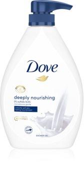 Dove Deeply Nourishing hranjivi gel za tuširanje s pumpicom