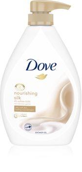 Dove Nourishing Silk питательный гель для душа с дозатором