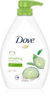 Dove Refreshing gel de duche refrescante com doseador
