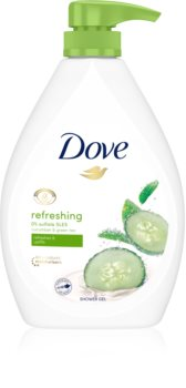 Dove Refreshing освежающий гель для душа с дозатором