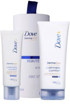 Dove DermaSpa Cashmere Comfort kosmetická sada I. pro ženy