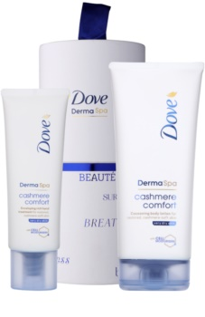 Dove DermaSpa Cashmere Comfort lote cosmético I. para mujer