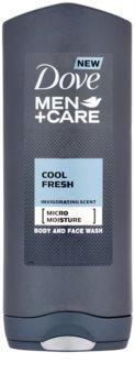 Dove Men+Care Cool Fresh gel de ducha para cara y cuerpo