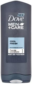 Dove Men+Care Cool Fresh gel de duș corp si fata