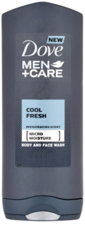 Dove Men+Care Cool Fresh sprchový gél na telo a tvár
