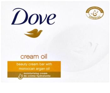 Dove Cream Oil Palasaippua Argan-Öljyn Kanssa