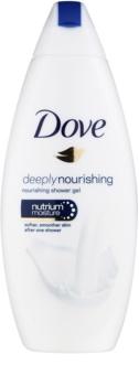 Dove Deeply Nourishing gel de banho nutritivo