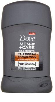Dove Men+Care Elements anti-transpirant solide 48h