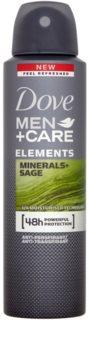 Dove Men+Care Elements Hikoilua Estävä Deodoranttisuihke 48h