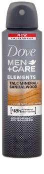 Dove Men+Care Elements antitranspirante em spray 48 h