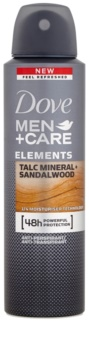 Dove Men+Care Elements spray anti-perspirant 48 de ore