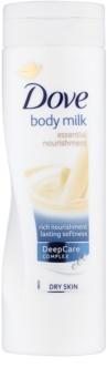 Dove Essential Nourishment testápoló tej száraz bőrre