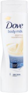 Dove Essential Nourishment тоалетно мляко за тяло за суха кожа