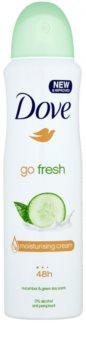 Dove Go Fresh Fresh Touch desodorizante antitranspirante em spray 48 h