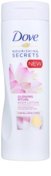 Dove Nourishing Secrets Glowing Ritual telové mlieko