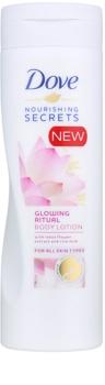 Dove Nourishing Secrets Glowing Ritual тоалетно мляко за тяло