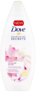 Dove Nourishing Secrets Glowing Ritual gel de banho cuidado intensivo