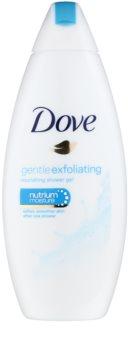 Dove Gentle Exfoliating Närande dusch-gel  med exfolierande effekt