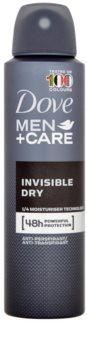 Dove Men+Care Invisble Dry Antiperspirant Spray 48 tim