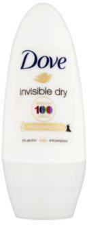 Dove Invisible Dry antitranspirante roll-on antimanchas blancas 48h