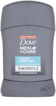 Dove Men+Care Clean Comfort antitranspirante en barra 48h