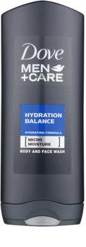 Dove Men+Care Hydration Balance Duschgel für Haare und Körper für Herren
