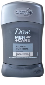 Dove Men+Care Silver Control anti-transpirant solide 48h